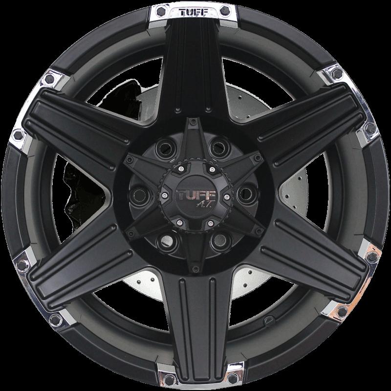 T-12 Satin Black - Chrome Attachments