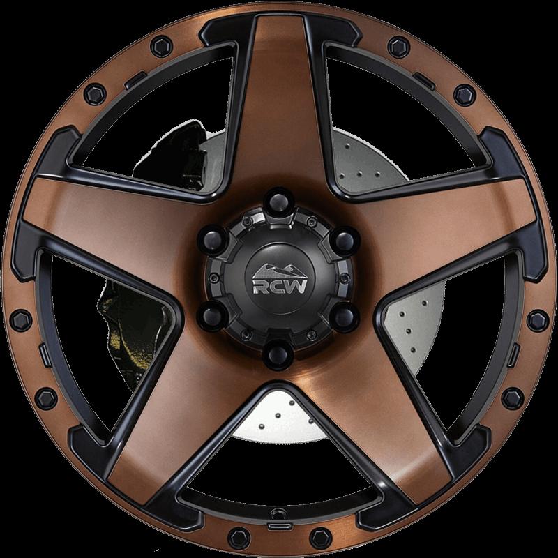 SANDSTORM Satin Black / Satin Bronze
