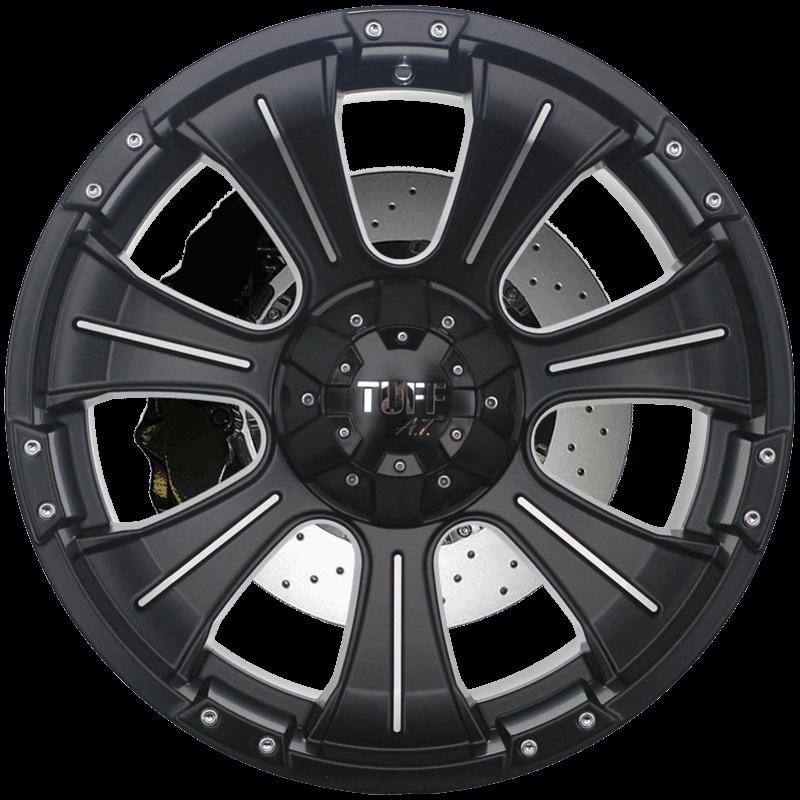 T-06 Satin Black - Machined Pinstripe