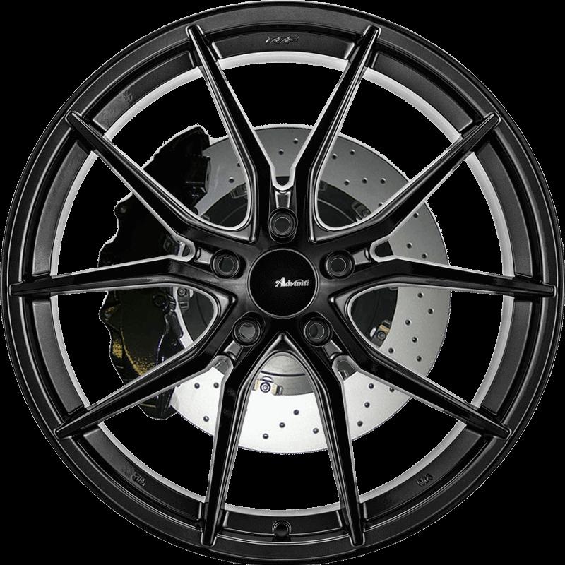 N717 Gloss Black/ Gun Metal