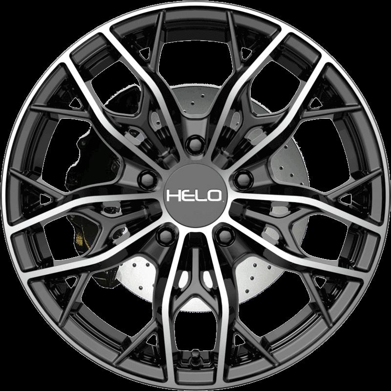 HE907 GLOSS BLACK MACHINED