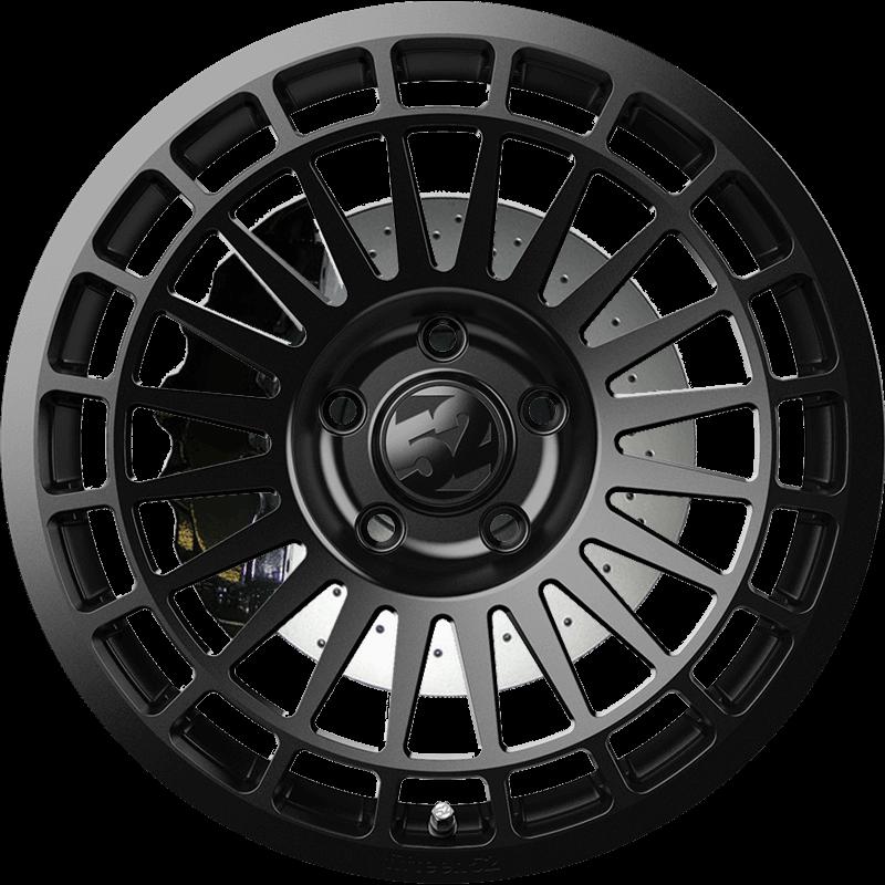 INTEGRALE ASPHALT BLACK (SATIN BLACK) Front
