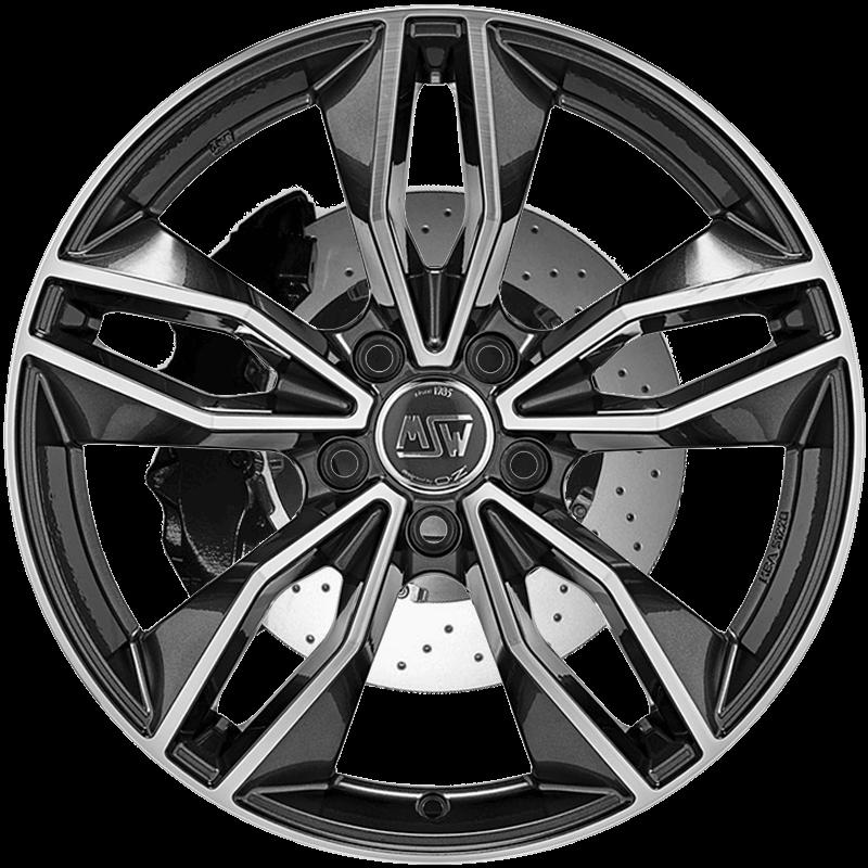 MSW 71 Gloss Dark Grey Full Polished