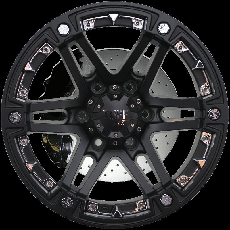 T-01 Satin Black - Chrome Attachments