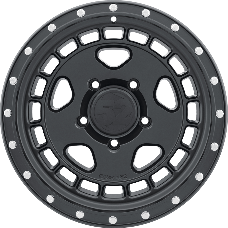 TURBOMAC HD ASPHALT BLACK (SATIN BLACK) Front