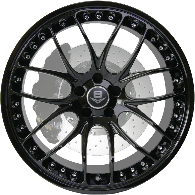 V-37 Gloss Black