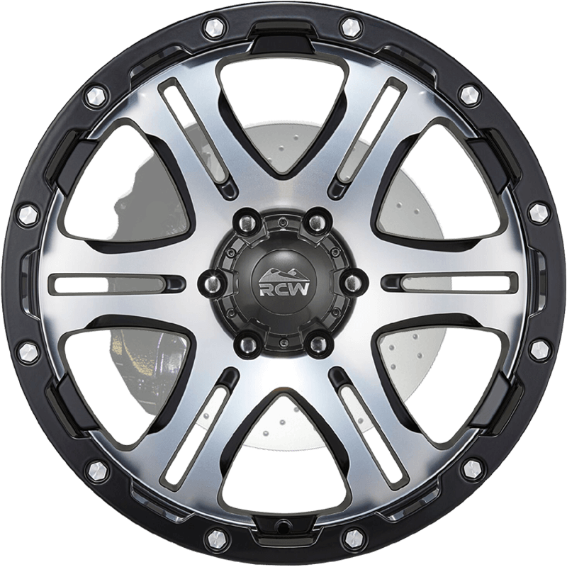 DART Satin Black / Satin Machined Face & Rivets
