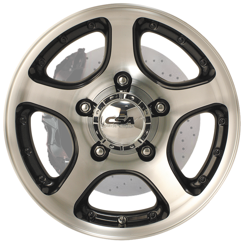 Stampede Anthracite Machined Face