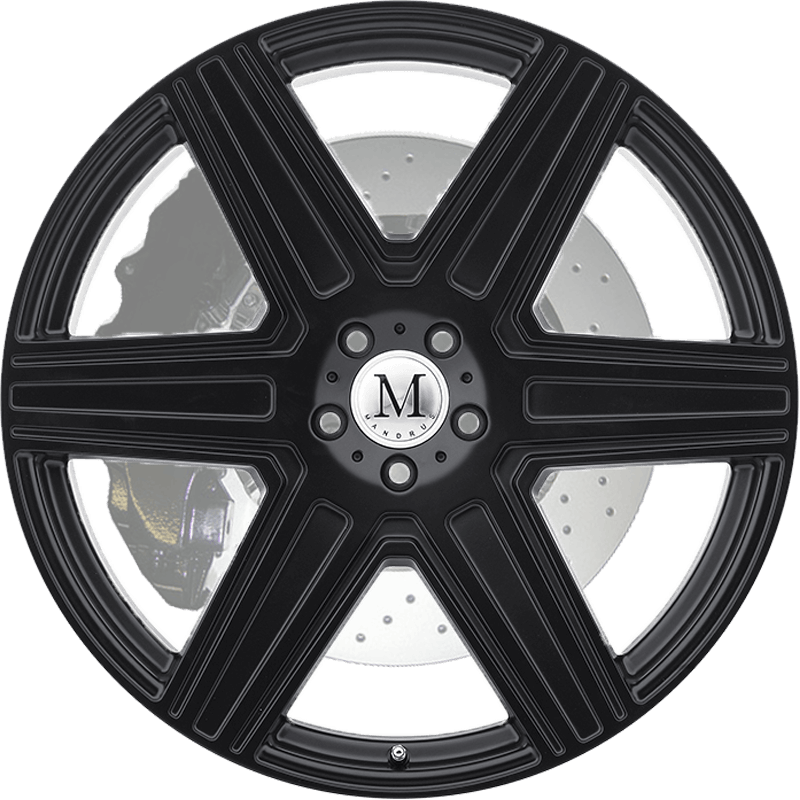 ATLAS MATTE BLACK Front