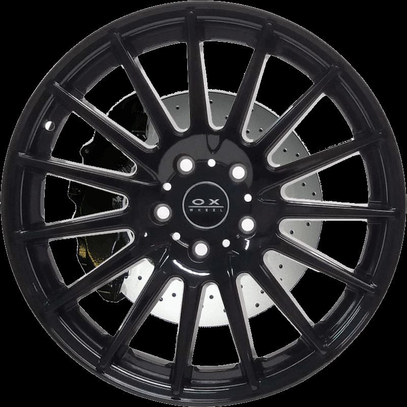 OX110 Gloss Black