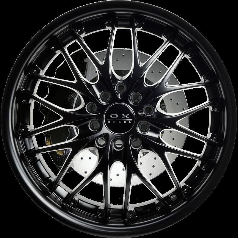 OX631 Full Flat Black