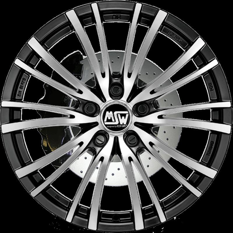 MSW 20/5 Matt Black Full Polished