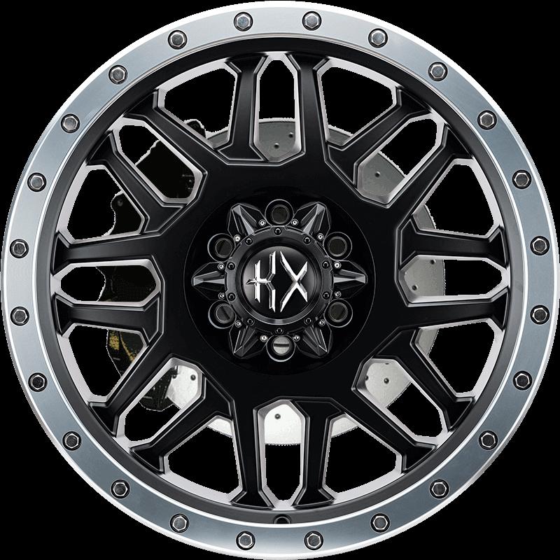 KX03 MATTE BLACK MACHINED RING