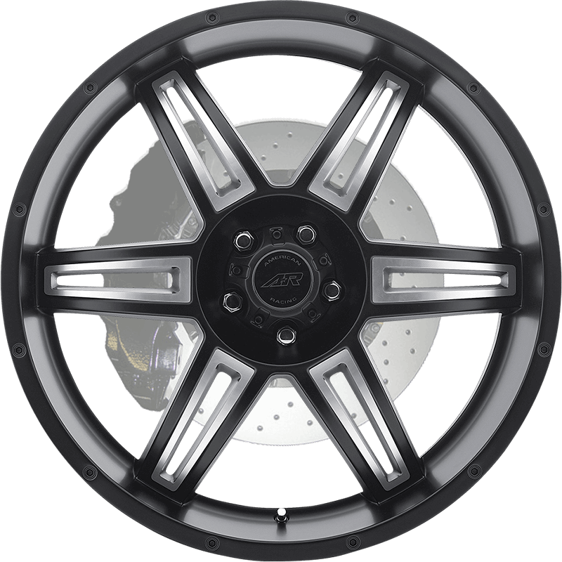 AR890 SATIN BLACK MACHINED