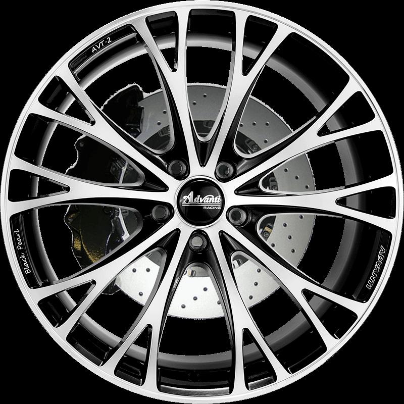 AVT-2 Gloss Black/Full Polish & Milling